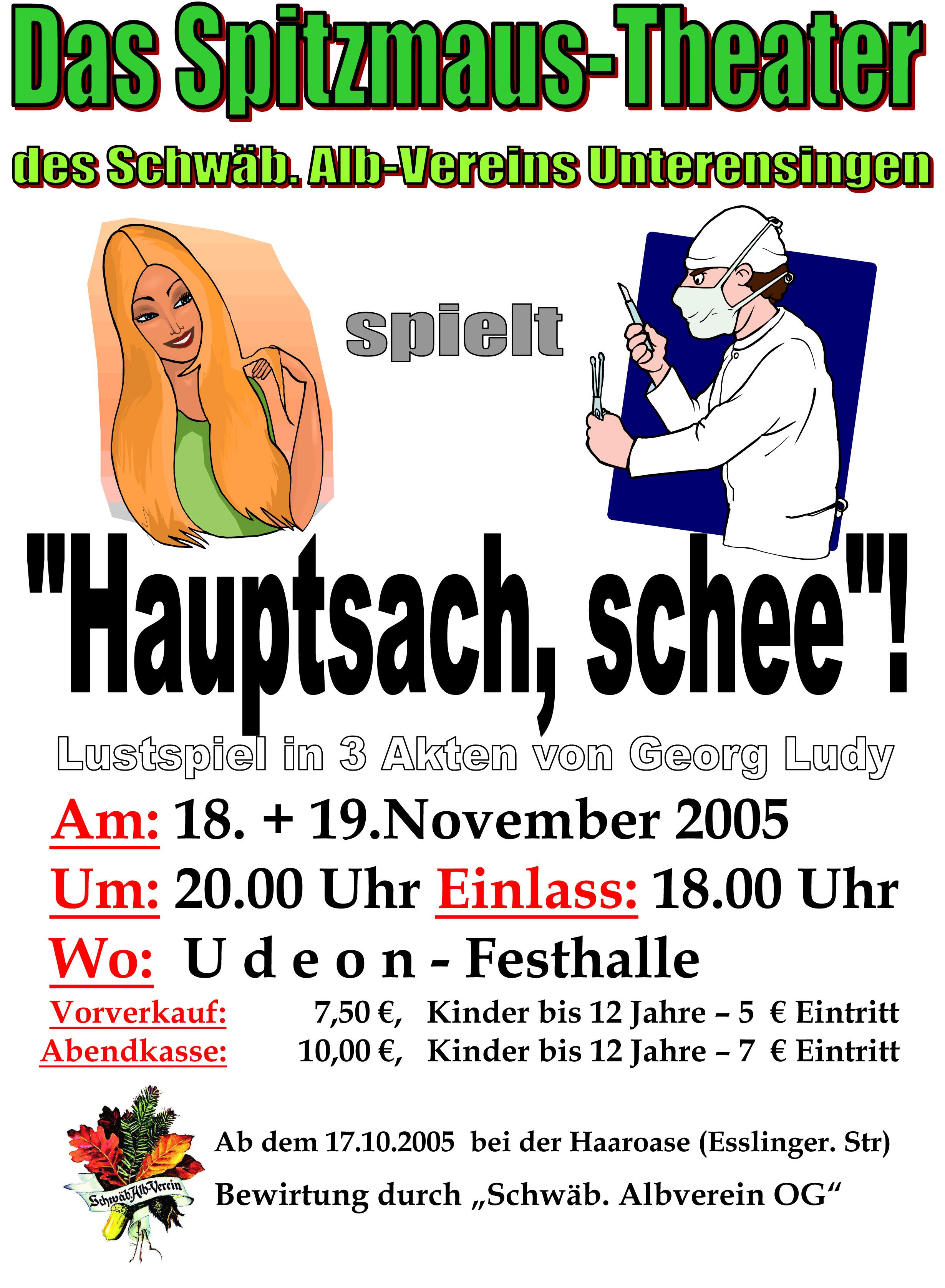 Plakat_2005_Hauptsach-schee