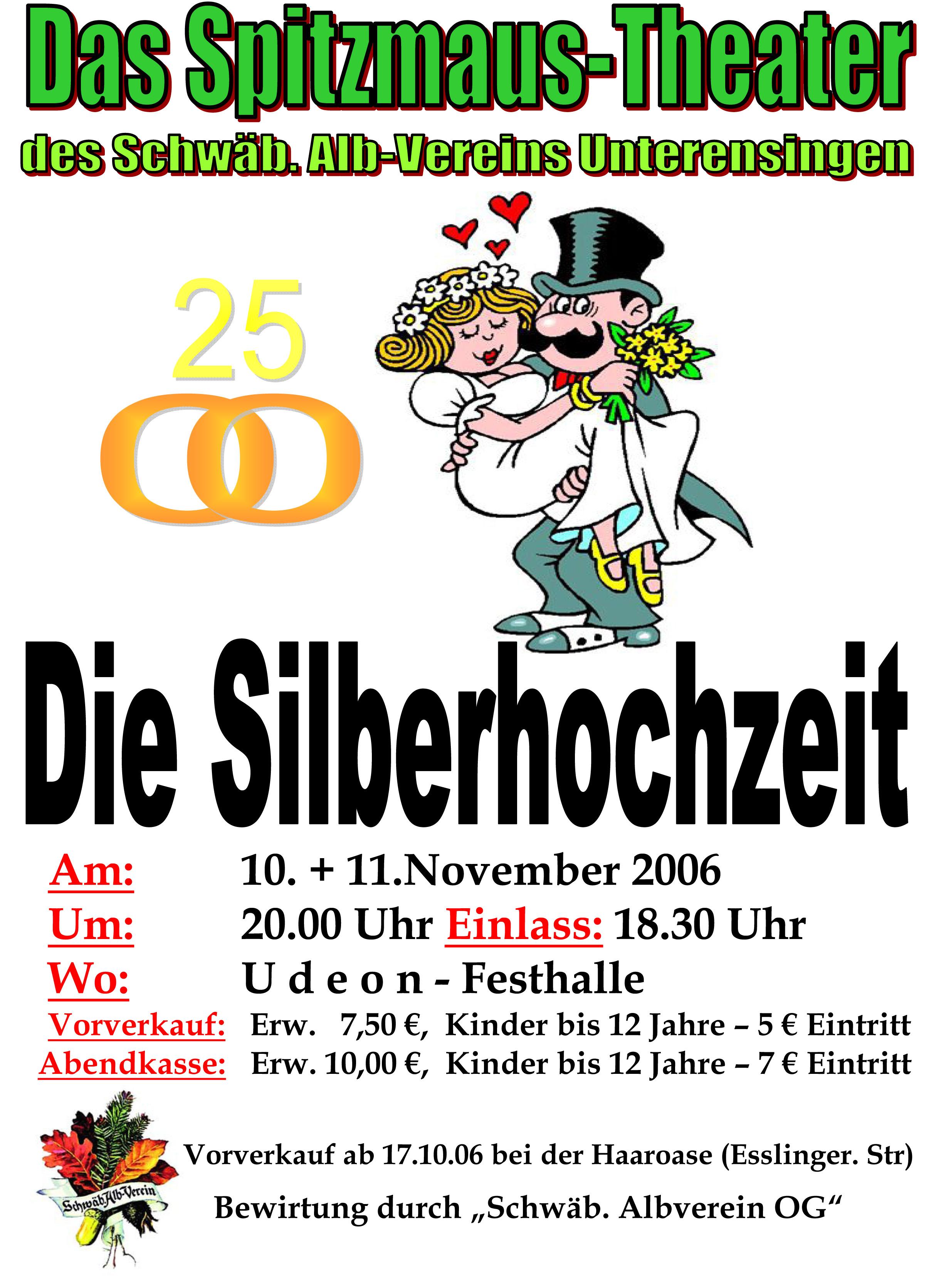 Plakat_2006_Die-Silberhochzeit